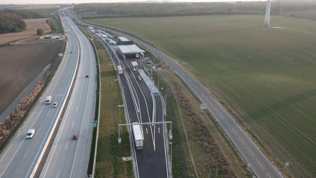 Dynaweigh - Un système de surveillance de la sécurité routière par l'exécutif autrichien.